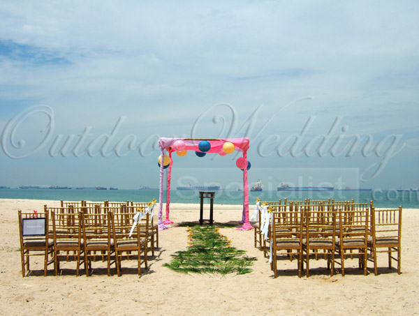 Wedding at the beach