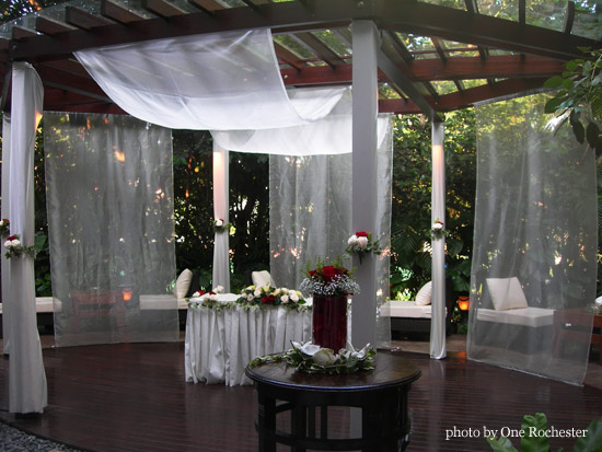 One Rochester is the perfect venue for a fairytale wedding The garden