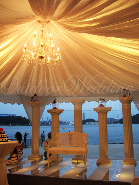 A Wedding Wish Come True Rahayu Nizam Outdoor Wedding
