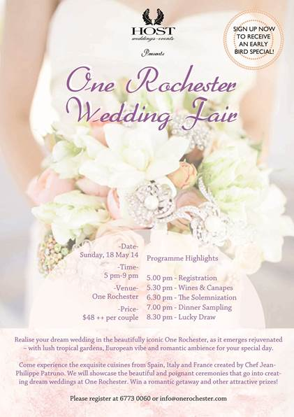 Rochester Wedding Fair 2014
